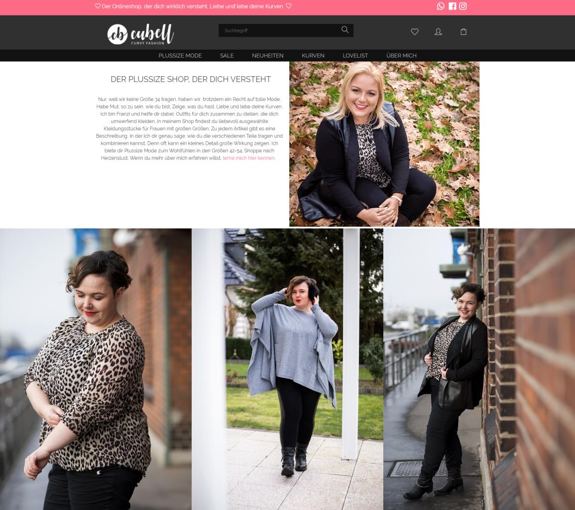 Mode für Mollige bekommt ihr bei cubell - curvy Fashion