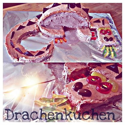 Drachenkuchen Grinni
