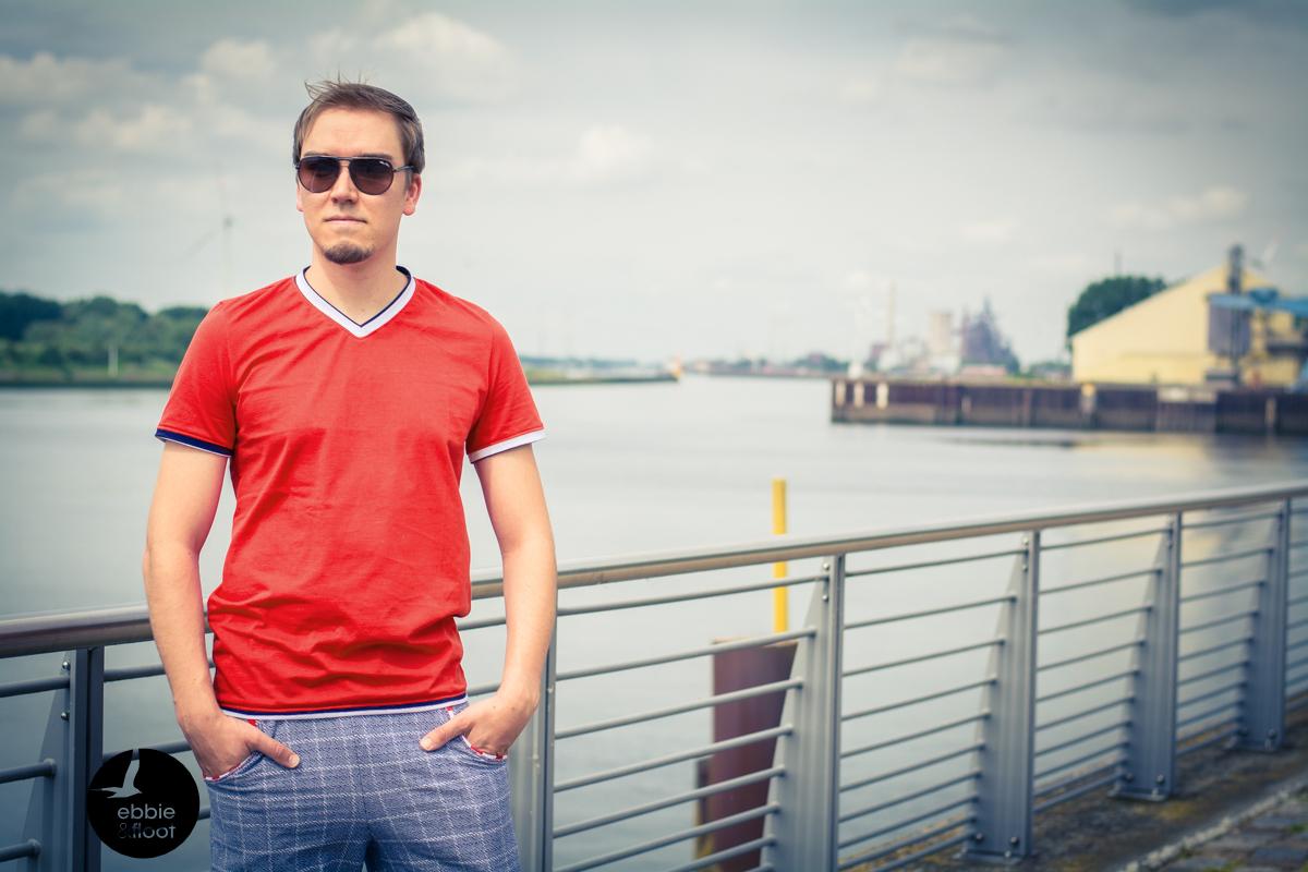 ebbie-und-floot_Albstoffe_Fred-von-Soho_Hose_Shirt_Sommerheld_Lieblingsbuxe_Jacquard_maritim_Herren_V8