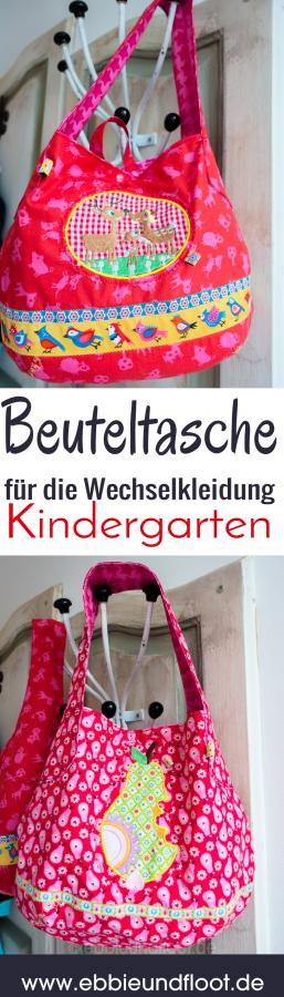 Zwei süße Kindergartentaschen für Wechselkleidung