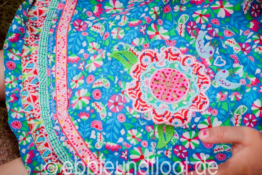 Wunderbare Details am Kleid