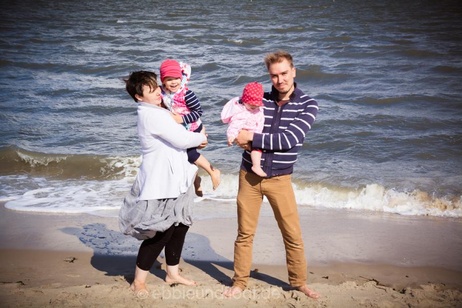 Familienausflug an die Nordsee