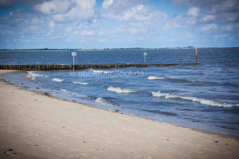 Nordseewellen und Stran