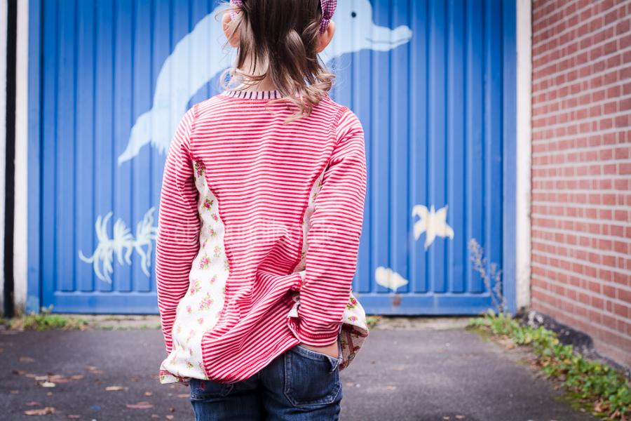 Stoffmix Shirt: Dieses Schnittmuster lädt zu Stoffmixen ein