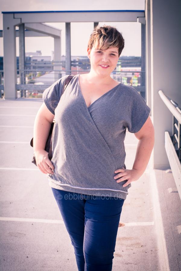 Lässiges Shirt für Plus Size Damen