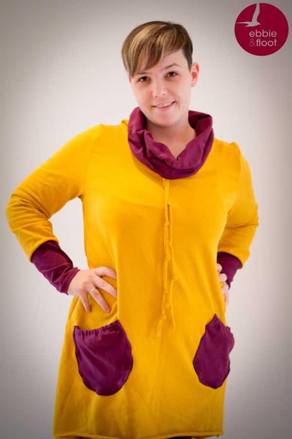 Plus Size Mode - Vokuhila Pullover