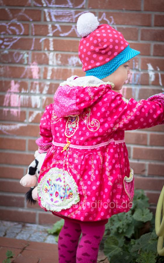 warme Jersey Mütze mit Schirm
