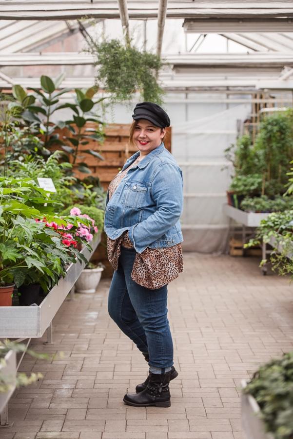 Damen Schnittmuster für große Größen - Zipfelshirt   Mode für Mollige