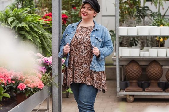Damen Schnittmuster für große Größen - Zipfelshirt | Mode für Mollige
