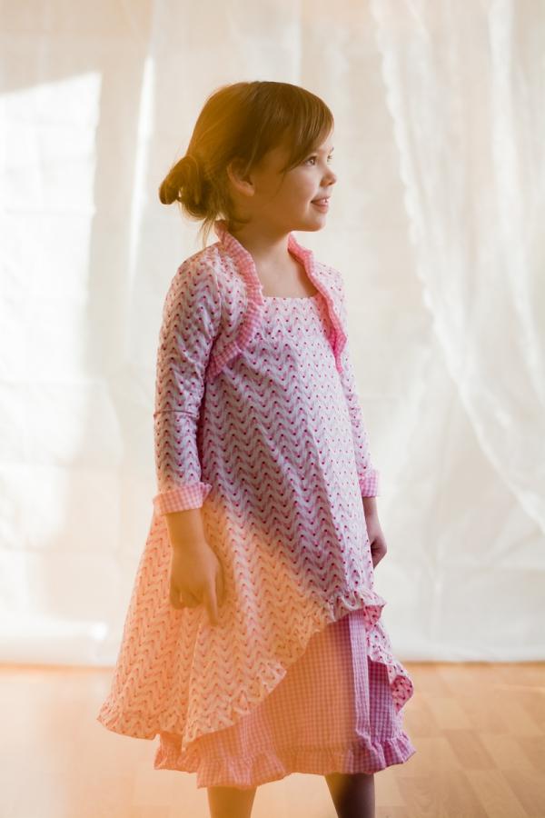 Schnittmuster Festtagskleid, Kommunionskleid