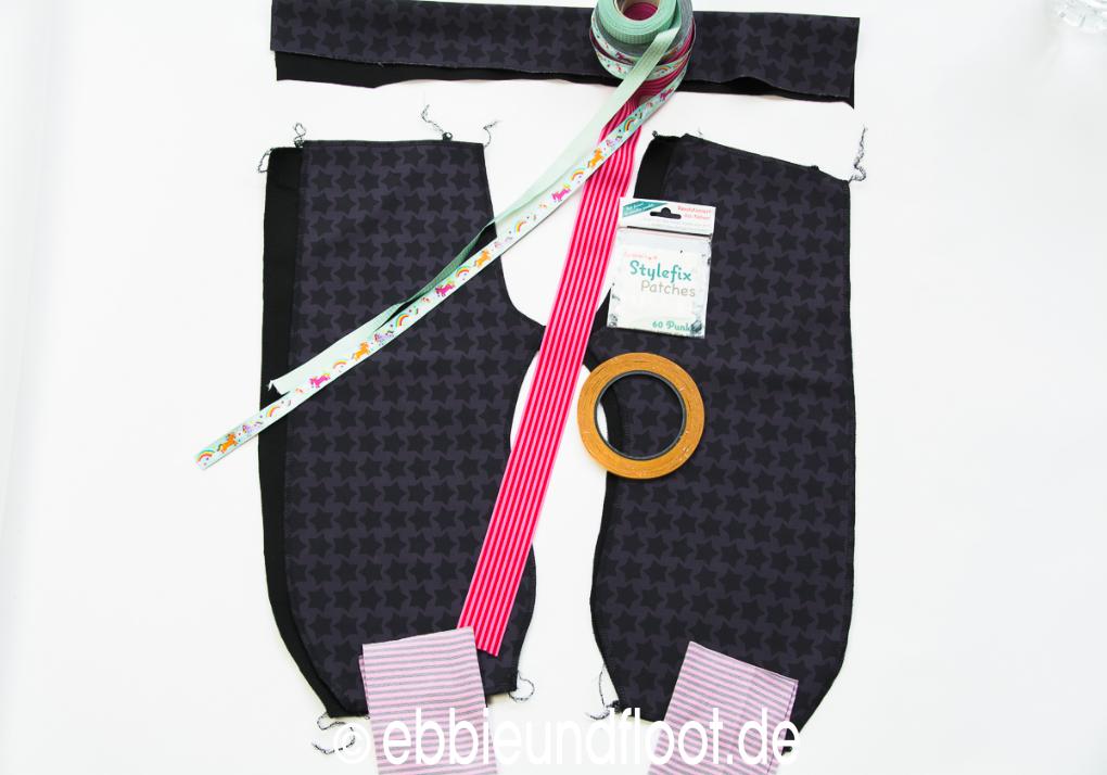 ebbie und floot softshellhose selber naehen schnittmuster softshellhose einhorn stickdatei. Black Bedroom Furniture Sets. Home Design Ideas