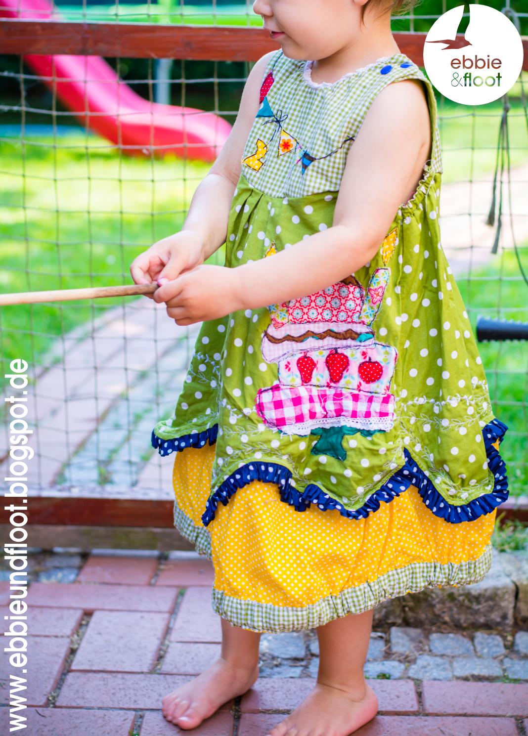 ebbie und floot_farbenmix_Cara_Kleid_Dress_birthday dress_Cake_Ballon_ribbons_ruffels_01