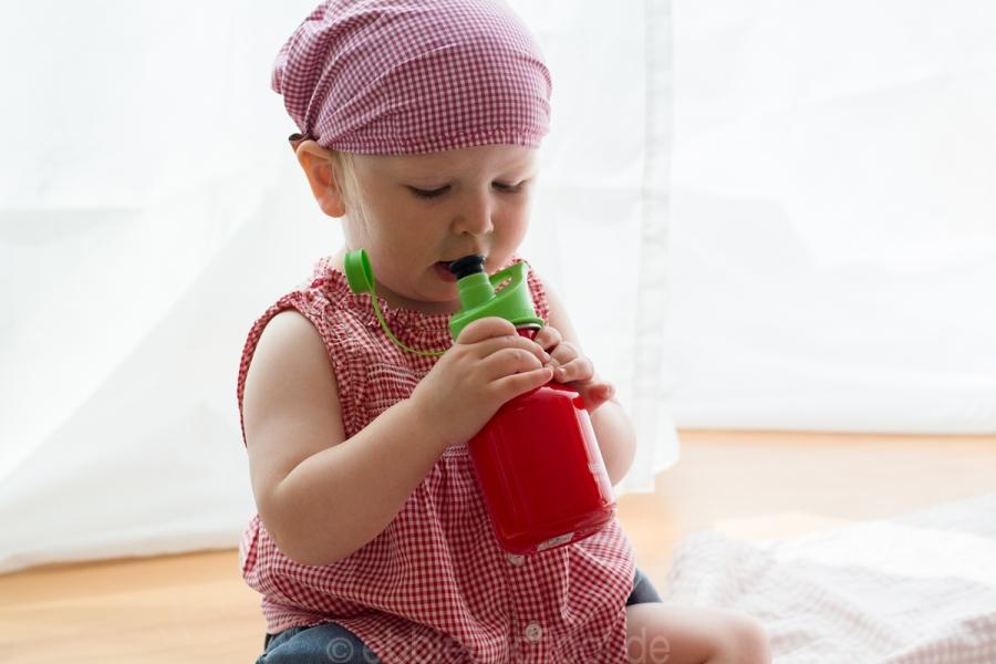 Eine BPA freie Trinkflasche für Kinder