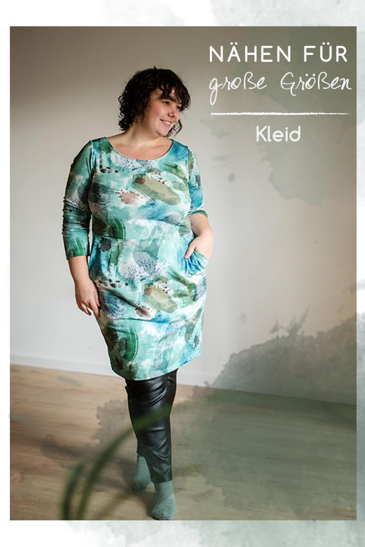 Kleid Schnittmuster für große Größen