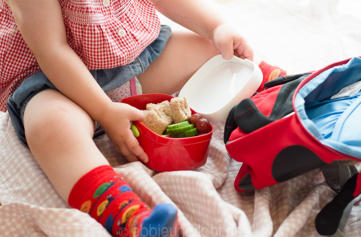 Süße kleine Brotdose für die Kleinsten
