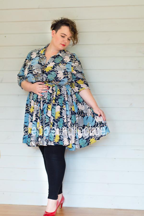 Tolles Plus Size Kleid von Studio Untold