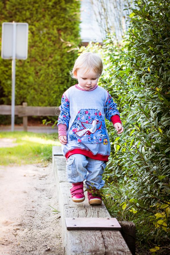 Oversize Pullover mit Bauchtasche - einfach selber nähen