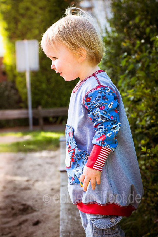 Süßer Oversize Pullover