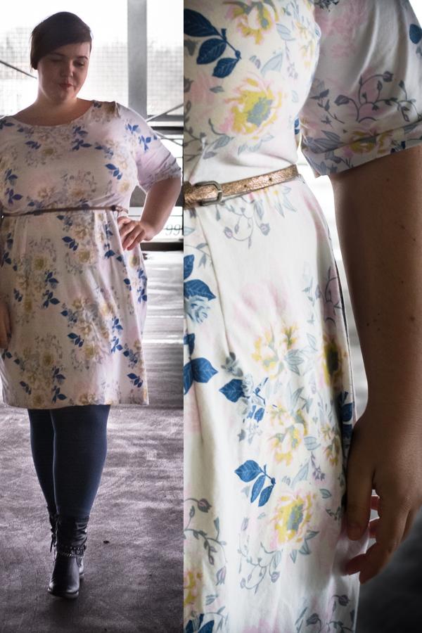 Plus Size Kleid: Selbstgenähtes und eine Shopvorstellung - Die Komplizin