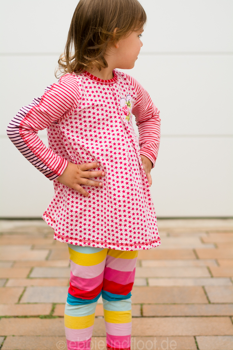 ebbie und floot schnittmuster kindermode farbenmix svenja tunika shirt rosa kindermode. Black Bedroom Furniture Sets. Home Design Ideas