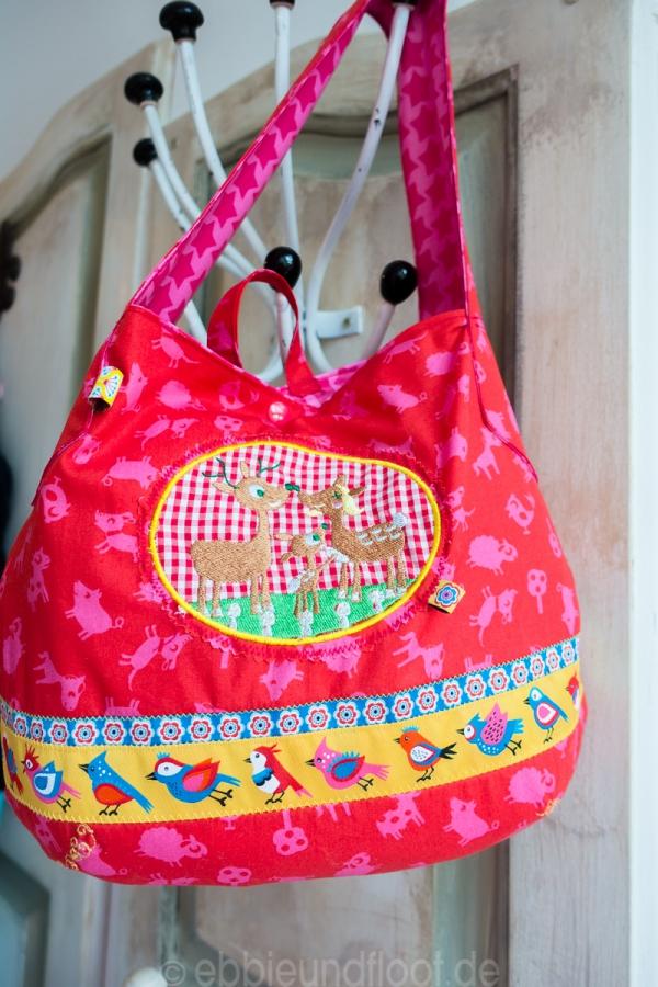 Eine schicke Tasche für die Wechselkleidung im Kindergarten